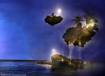 float island expedition by hantuseram