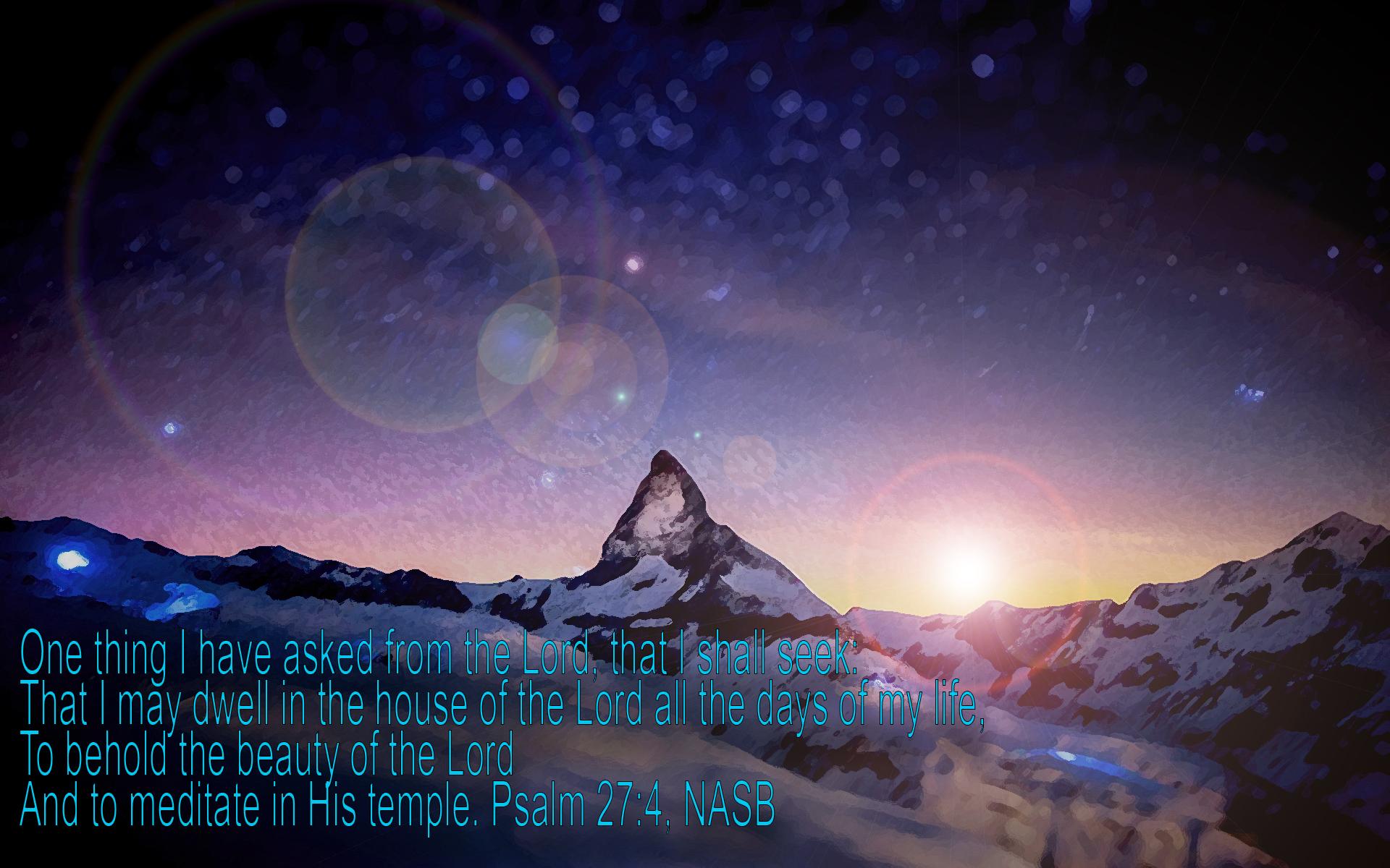 psalm 27 4 wallpaper - photo #8