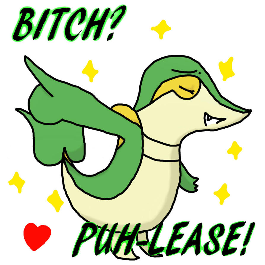 Snivy Best Nature