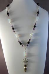 Night Goddess Necklace by StudioNocturna