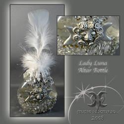 Lady Luna Altar Bottle