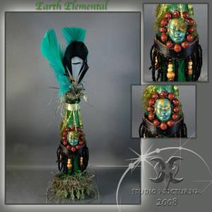 Earth Elemental Spirit Bottle
