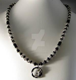 Black Dragon necklace