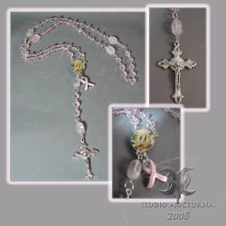 Pink Miracle Rosary