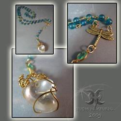 Dragonfly Crystal Rosary