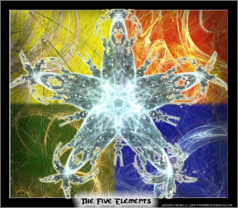 Five Elements Art : The five elements by studionocturna on deviantart