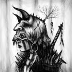 Demon Head by JustinGedak
