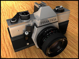 Praktica Camera by bra1n