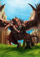 Monster Hunter : i'm alone by leonart87