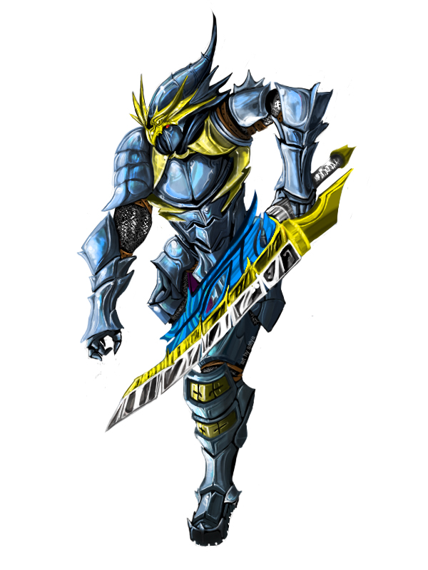 Azure Dragon Knight By Leonart87 On Deviantart Dragon knight is the story of a wandering hero who gets caught trying to steal food from a royal palace. azure dragon knight by leonart87 on