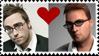 Danny + Shaun - stamp by Tangerine-Catnip