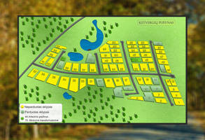 Ketvergiai village map