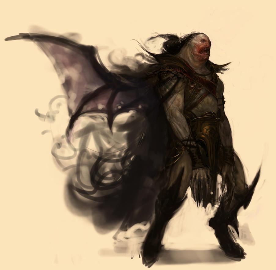Vampire Dude by Robotpencil