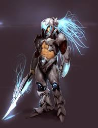 Zero the Aztec warrior? by Robotpencil