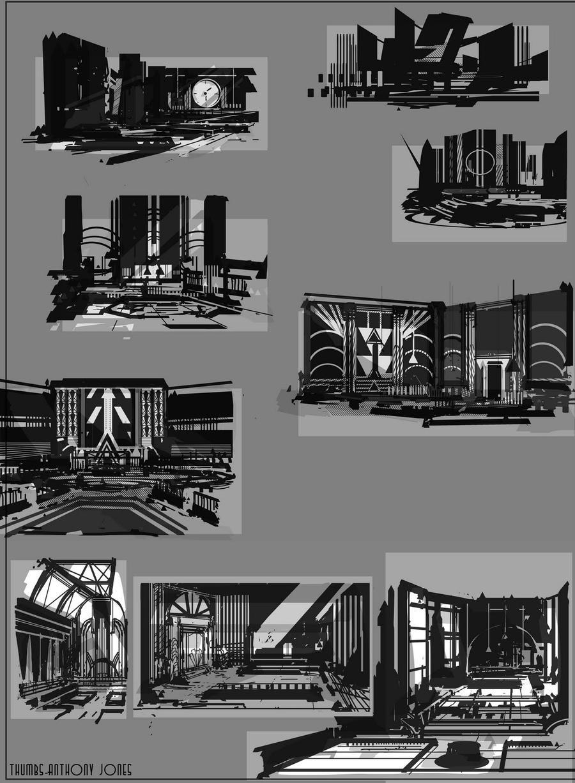 Art test Environment Study by Robotpencil
