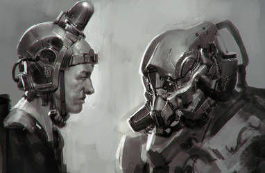 Lunch Sketch 13 by Robotpencil