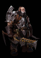 A dwarf by Robotpencil