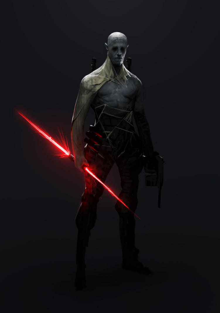 Sith/Jedi Hunter by Robotpencil