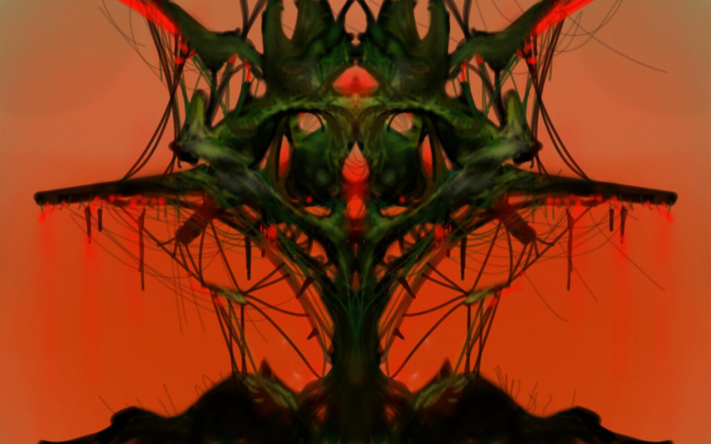 Abstract Tree done on my Samsung Tablet by Robotpencil