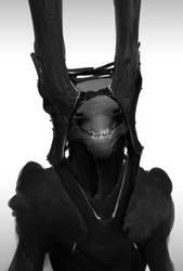 Evil Rabbit by Robotpencil