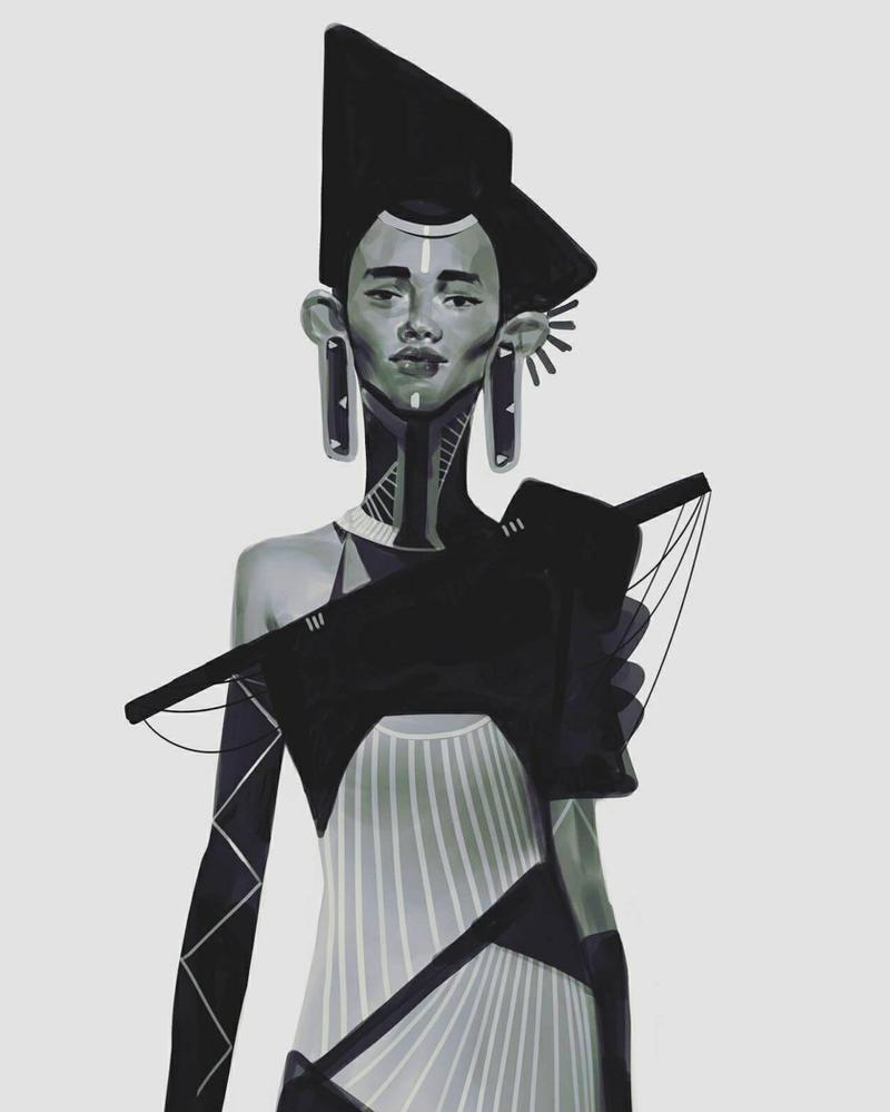 afrokimchipunk by Robotpencil