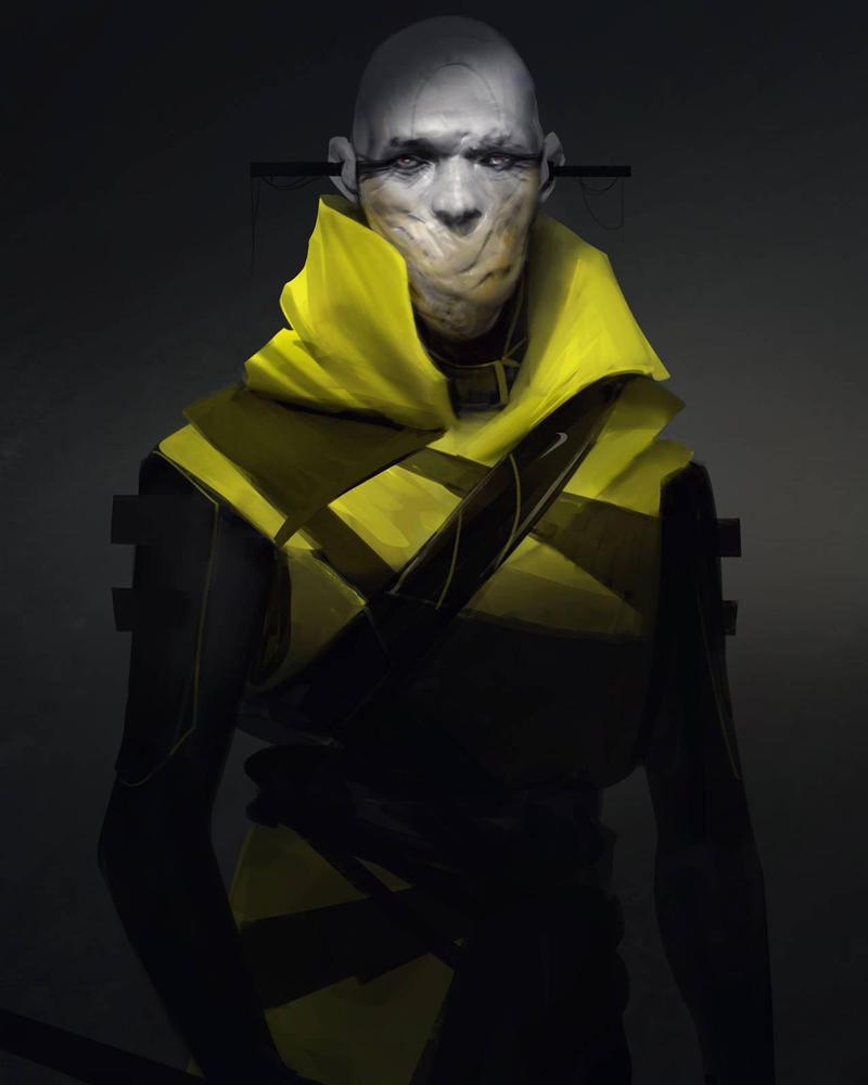 Yellow Jacket  by Robotpencil