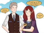 The Twelfth Doctor and Donna