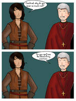 BBC's The Musketeers: The Cardinal's clothes by ice-cream-skies