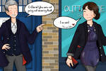 The Twelfth Doctor and Clara: Clara's night out