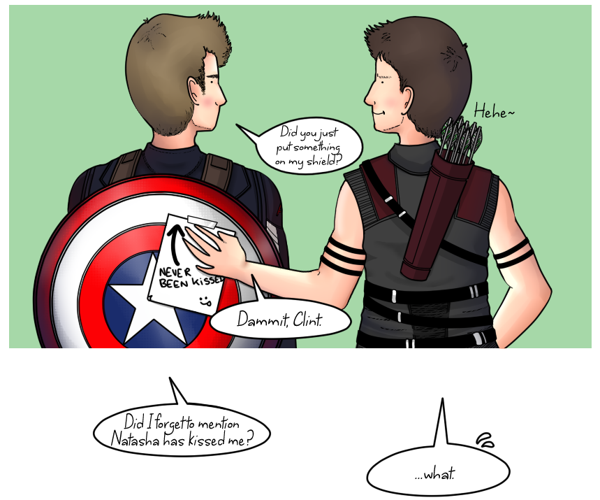 Steve and Clint: The note by ice-cream-skies