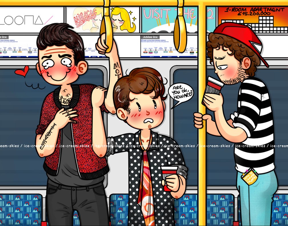 On the underground by ice-cream-skies
