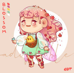 [OPEN] Adoptable Blossom by Cheemcoot