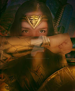 Wonder Woman 1984 Cosplay and Photo Manipulation