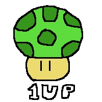 1up by DragonQuestWes