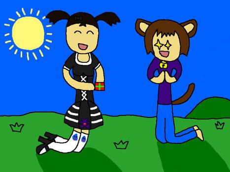 Motoko and Hatakeneko CONTEST