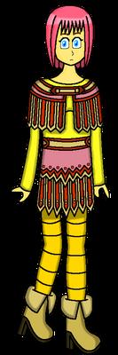 Female Dragon Quest IX Hero