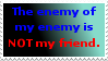 The enemy of my enemy is not my friend by DragonQuestWes