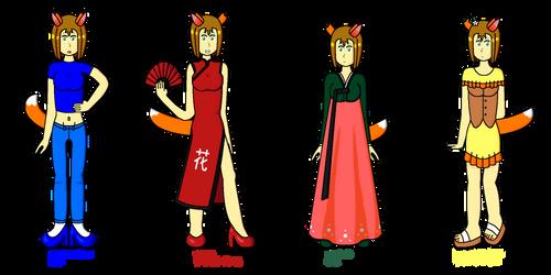 Naomi's Outfits Set 2 V2.0