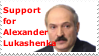 Support for Alexander Lukashenka by DragonQuestWes
