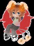 Chibi Audio Byte Mascot, Pitch by Maru-Chan-an by REDs33sALL