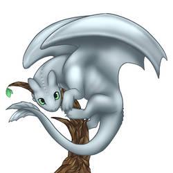 Silver Moon Fury by Siferian