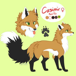 Casimir Ref (2019) +Commish+ by Siferian