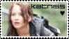 Katniss Everdeen Fan Stamp by Moararishoz