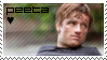 Peeta Mellark Fan Stamp by Moararishoz