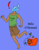 Milo The Dullahan by AnimeNoelle