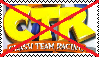 Anti Crash Team Racing Stamp by da-stamps-45212