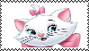 Marie (The Aristocats) Stamp by da-stamps-45212