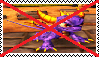 Anti Spyro (Skylanders) Stamp by da-stamps-45212