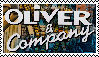 Oliver and Company Stamp by da-stamps-45212