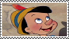 Pinocchio (Disney) Stamp by da-stamps-45212
